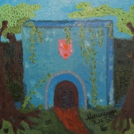 The mystical entrance.......