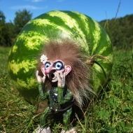 Robert Boguško TROLL art doll