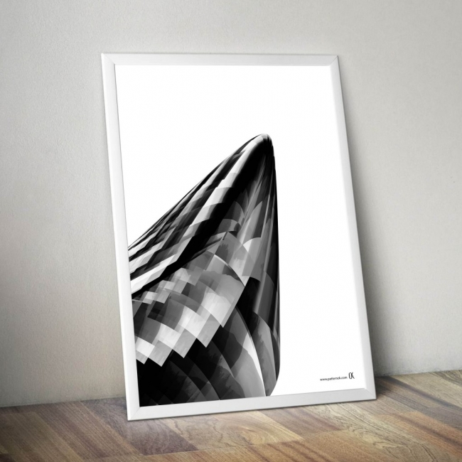 "series of posters "" black, white, gray"""