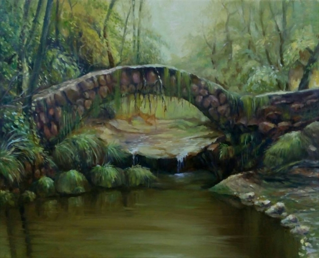 The Bridge in the wood