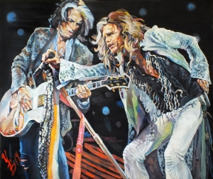 "Steven & Joe. ""Aerosmith"""