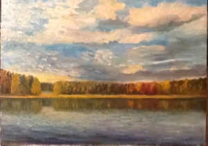 Autumn. Lake.