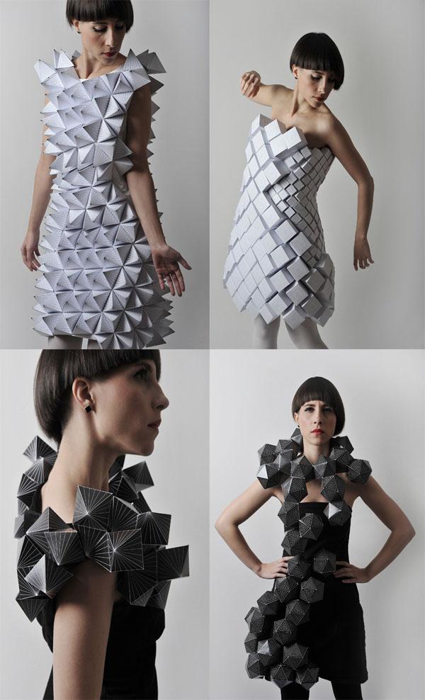 Платье из газет как назвать