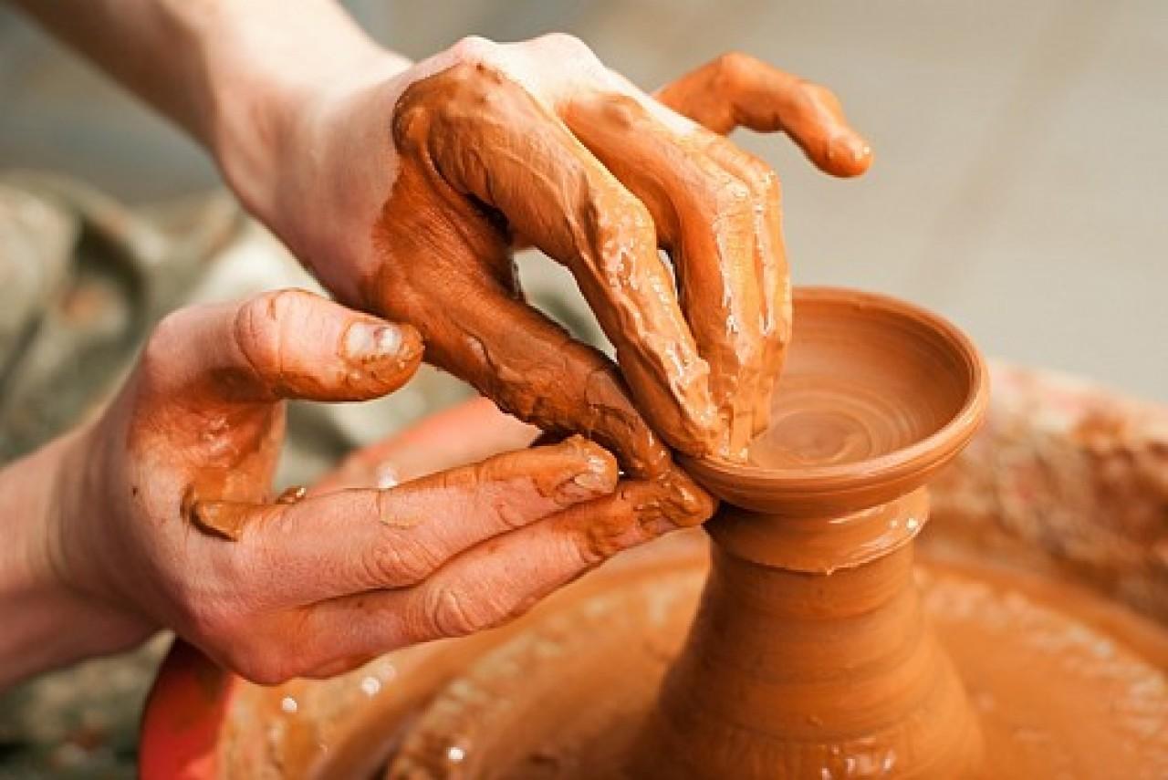Как сделать посуду из глины без гончарного круга