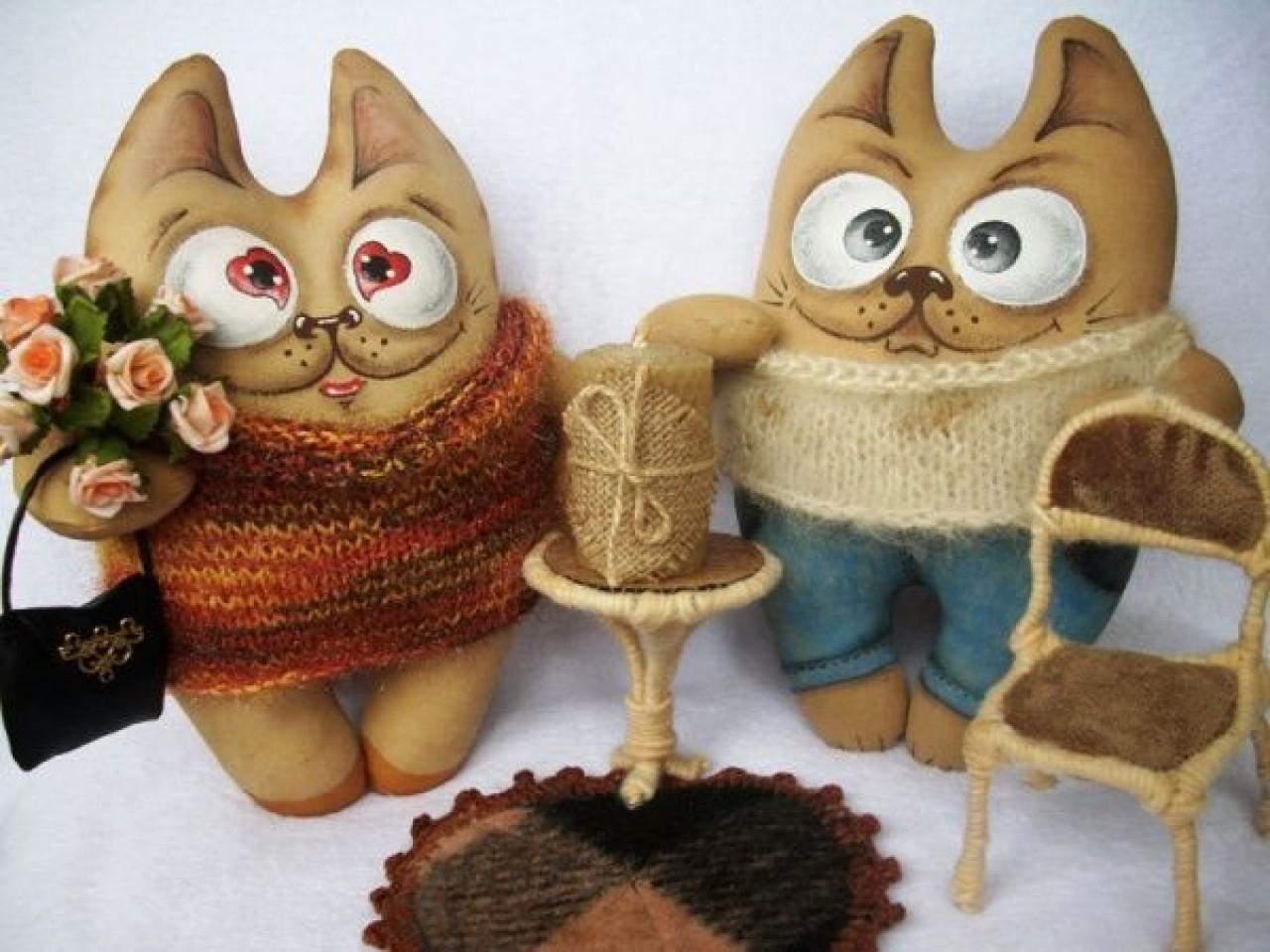 Сшить кофейную игрушку своими руками