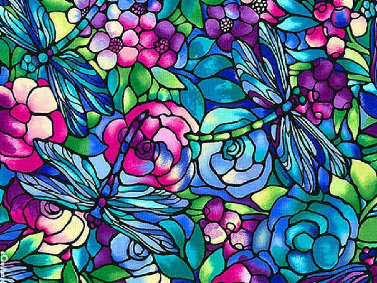 Схемы рисунков витражными красками